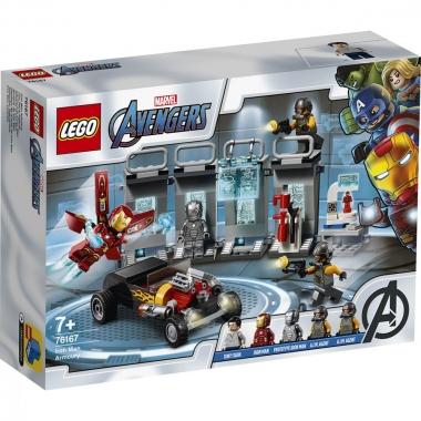 Lego Super Heroes  arsenalul lui Iron Man 76167