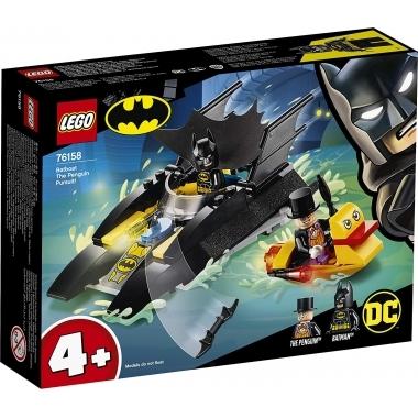 Lego Super Heroes urmarirea lui Penguin cu Batboat 76158