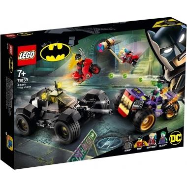 Lego Super Heroes  urmarirea lui Joker cu mototriciclul 76159