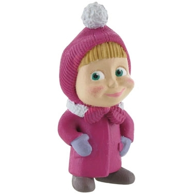 Masha and the Bear Mini Figure Masha Winter 6 cm