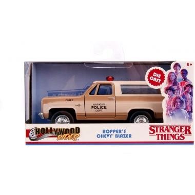 Chevy Blazer K5 Stranger Things, macheta auto 1:32
