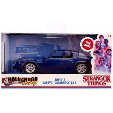 Chevy Camaro 1979 Stranger Things, macheta auto 1:32