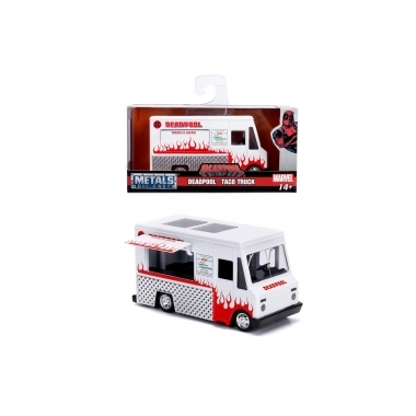 Deadpool Foodtruck Hollywood Rides, macheta auto 1:32
