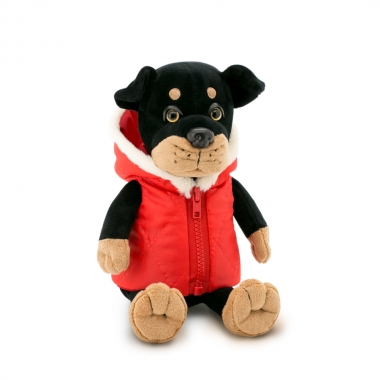 Max, catelul rottweiler, din plus, 20cm (Orange Toys)