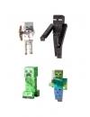 Minecraft, Set 4 Figurine Mobs 8 cm