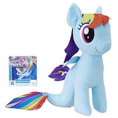My Little Pony - jucarie plus 25 cm Rainbow Dash cu codita de sirena
