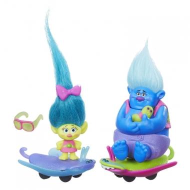Pachet figurine Trolls pe role
