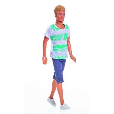 Papusa baiat Kevin sportiv (blond)