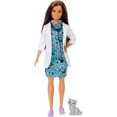 Papusa Barbie Cariere - medic veterinar