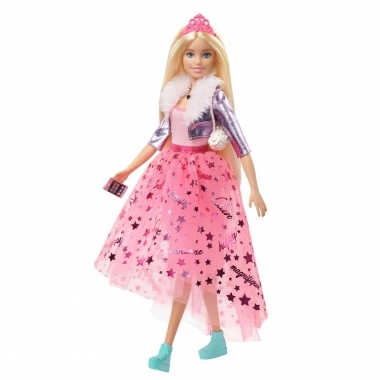 Papusa Barbie printesa cu accesorii