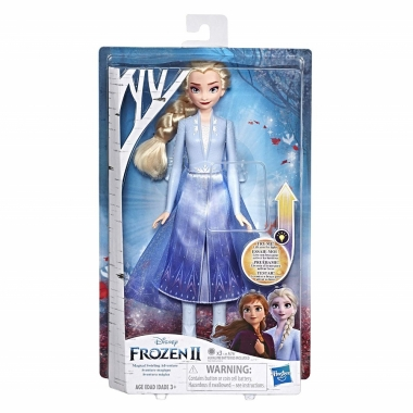 Frozen2 - papusa Elsa cu rochita luminoasa