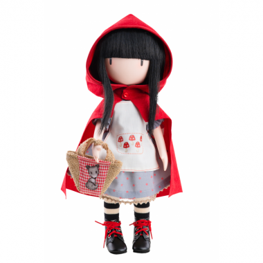 Papusa Gorjuss - Little Red Riding Hood 32 cm
