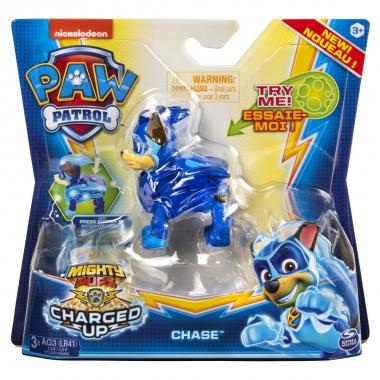 Patrula Catelusilor charged up figurina luminoasa Chase