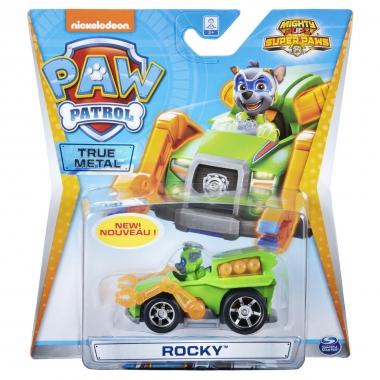 Patrula Catelusilor super eroul Rocky cu vehicul