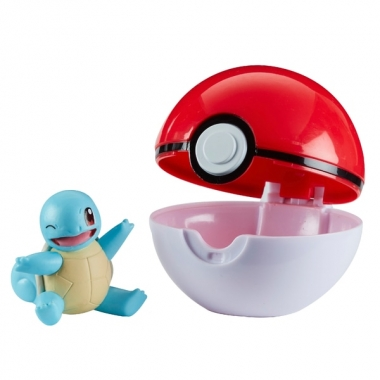 Pokémon Clip 'N' Go Pokeball Squirtle 5 cm