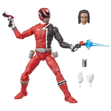 Power Rangers Lightning Collection S.P.D. Red Ranger Action Figure 15 cm