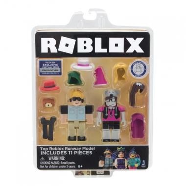 Roblox Celebrity Blister 2 Figurine Top Roblox Runway Model