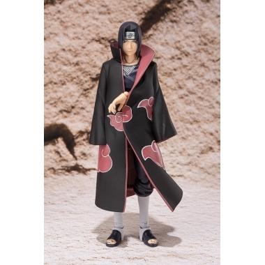 Naruto, Figurina Itachi Uchiha superarticulata cu accesorii 15 cm