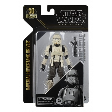 Star Wars Black Series Archive - Imperial Hovertank Driver 15 cm (50th Anniversary W2)