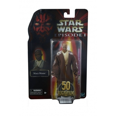 Star Wars Episode I Black Series Lucasfilm 50th Anniversary Action Figure 2021 Mace Windu 15 cm