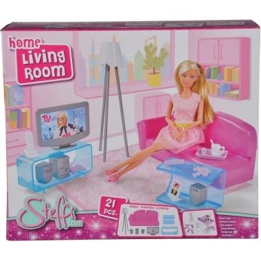 Steffi Love camera de zi cu piese de mobilier