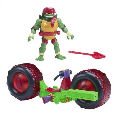 Testoasele Ninja - vehicul cu figurina Raphael