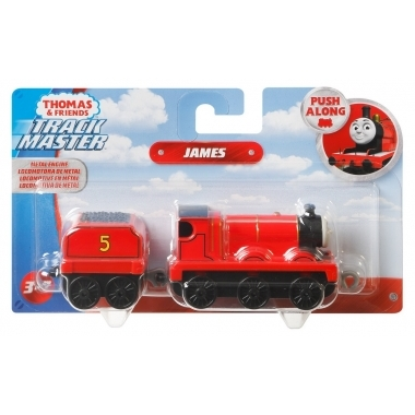 Thomas and Friends - locomotiva cu vagon push along James