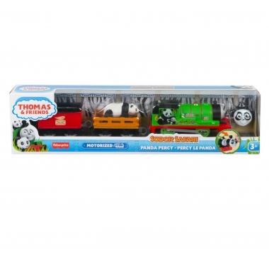 Thomas & Friends - locomotiva motorizata safari Panda Percy