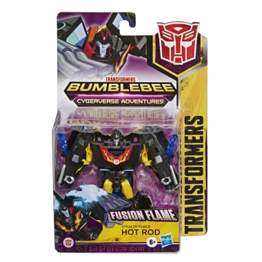 Transformers Cyberverse Robot Hot Rod