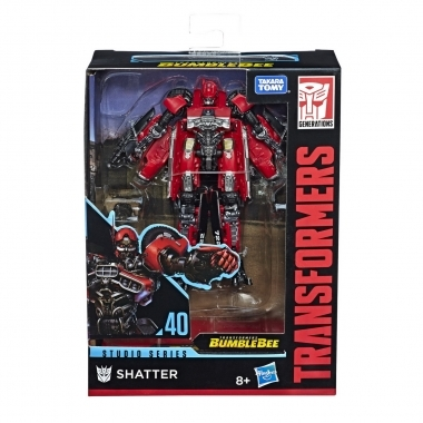 Transformers Robot Shatter seria Deluxe Studio