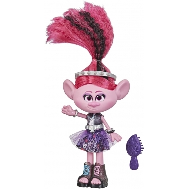 Trolls World Tour - Poppy Rock Style Deluxe Fashion